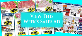 View This Weeks Sales Ad